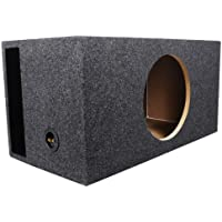 Rockville RBS12 Single 12 2.6 cu.ft. SPL Vented Subwoofer Enclosure With Grade A 3/4 MDF Wood, Made in America Using Only the Highest Quality Materials for the Best Performance and Sound From Your Subs - Designed For Increased SPL, Makes Your Subs Loude
