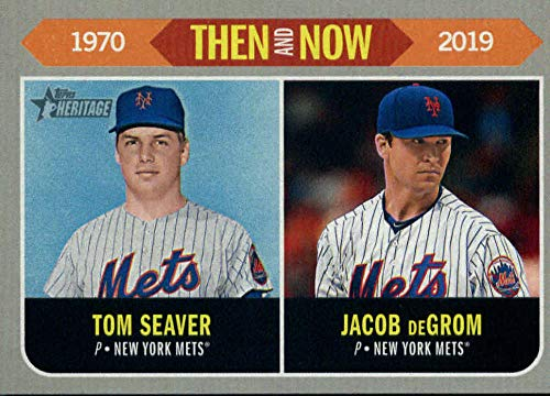 Amazoncom 2019 Topps Heritage Then And Now Tn 3 Jacob