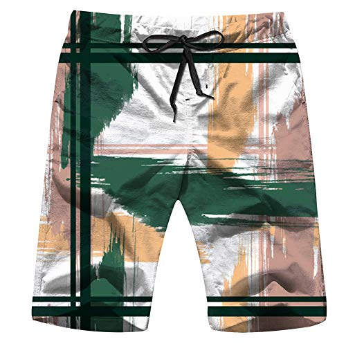 Cool pillow Origami Planes Flowers Geometric Mens Boardshorts Swim Trunks Quick-Drying Running Shorts M