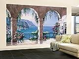 Mediterranean Arch Wallpaper Mural