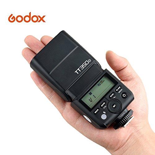 Godox TT350o Mini Thinklite TTL Flash Speedlite 2.4G HSS 1/8000s GN36 for Olympus Panasonic Cameras for Olympus E-P5 E-P3 Pen-F E-M10II E-M5II E-M1 E-PL8 Panasonic DMC-GX85 DMC-G7 DMC-GF1 DMC-LX100