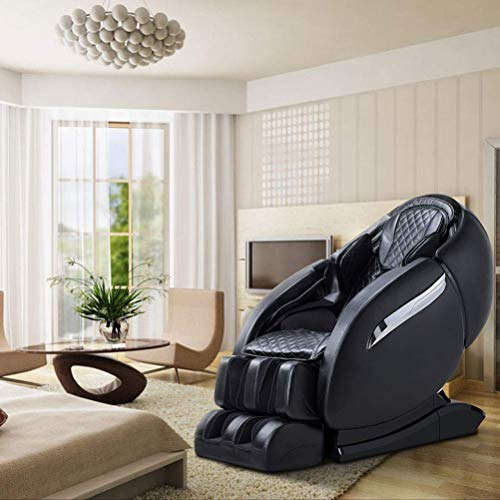 Luxurious Electric Full Body SL-Track Zero Gravity Shiatsu Massaging Chair Recliner with Heating Back, Foot Roller and Air Massage System for Home from FUHAO