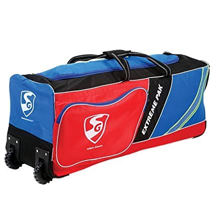 a191e02acd Image Unavailable. Image not available for. Color  SG Extremepak Cricket Kit  Bag (Large Team Bag) with Wheels