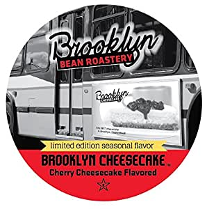 Brooklyn Beans, Brooklyn Cheesecake Single-Cup Coffee for Keurig K-Cup Brewers, 40 count