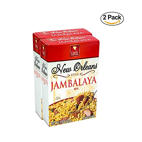 Chef Karlin New Orleans Style Jambalaya Rice - 2 Pack (8 oz)