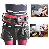 Wgwioo Gait Belt Transfer Belt, for Elderly to Lift and Transfer Physical Therapy Belt Straps and Elderly Care Lifts Medical Safety Belts,XL