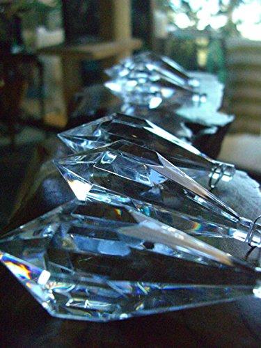 Dexon Power 6 Crystal Chandelier Drops 3''