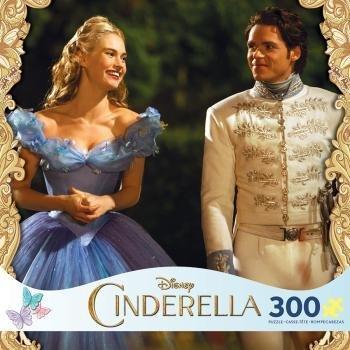Disney Cinderella and the Prince 300 Piece Oversize Jigsaw Puzzle - Cinderella Jigsaw