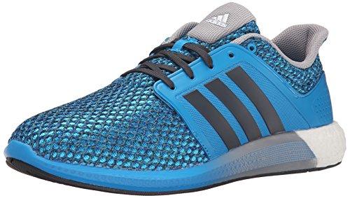 051a6ab96 adidas Performance Men s Solar Boost M Running Shoe Solar Blue Black Mid  Grey - 10