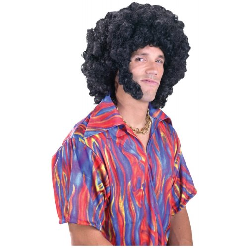 (Afro with Chops Wig Costume)