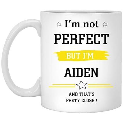 amazon com personalized coffee mugs i m not perfect but i m