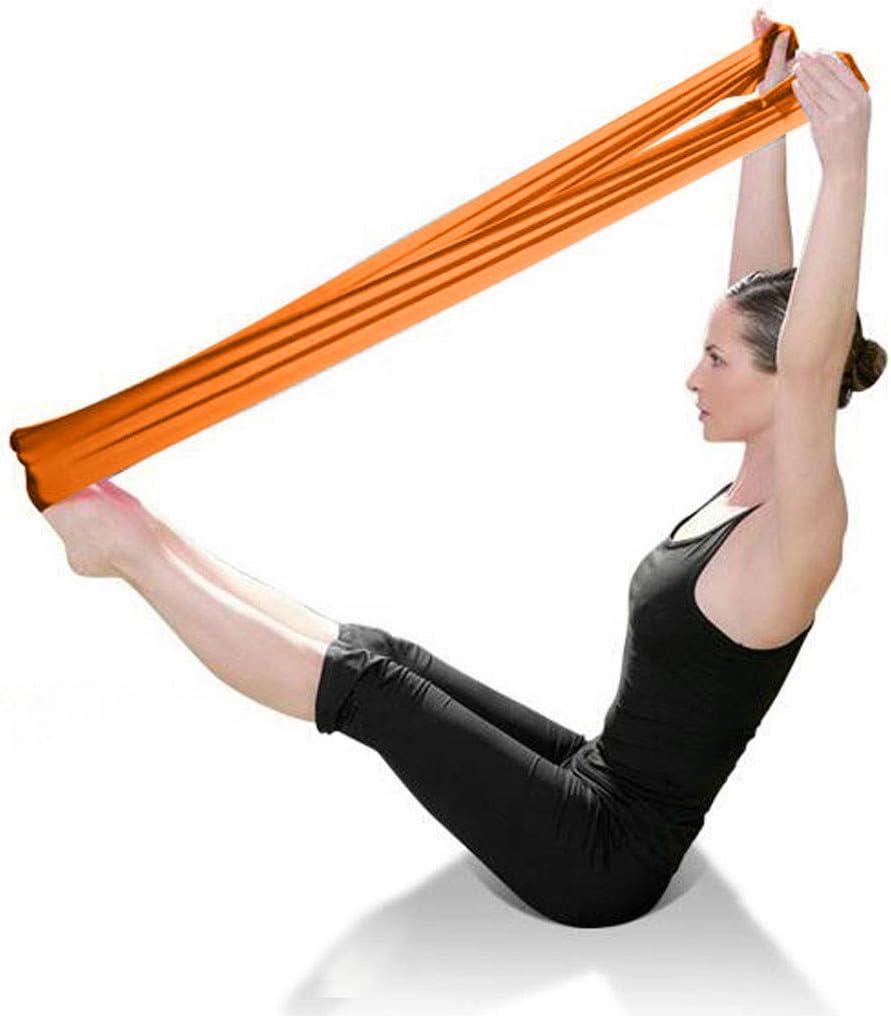 AmyGline Fitnessband Theraband Gymnastikband Fitnessb/änder Widerstandsb/änder Yoga Muskelaufbau Resistance Band Trainingsband f/ür Crossfit Pilates f/ür M/änner und Frauen