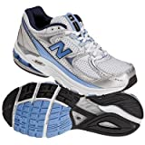 New Balance Women's Wr1012 Nbx Motion Control Running Shoe,Silver/Blue,7.5 B