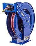 Coxreels Truck Series Hose Reel with EZ-Coil, Model# EZ-TSH-350, 3/8'' Hose ID, 50' Length