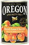 Oregon Fruit Pitted Ligth Sweet Royal Anne Cherries in Heavy Syrup, 15-Ounce Cans (Pack of 8)