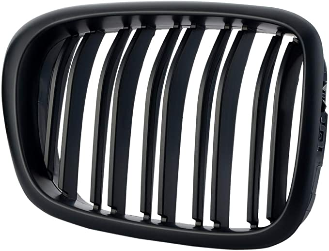 Gz.A E39 Xk Ys Rejilla doble para BMW Serie 5 E39 99-03 color negro UKNANY