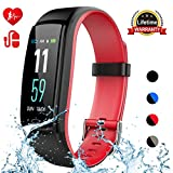 Mgaolo Fitness Tracker,Activity Health Tracker Waterproof Smart Watch Wristband with Blood Pressure Heart
