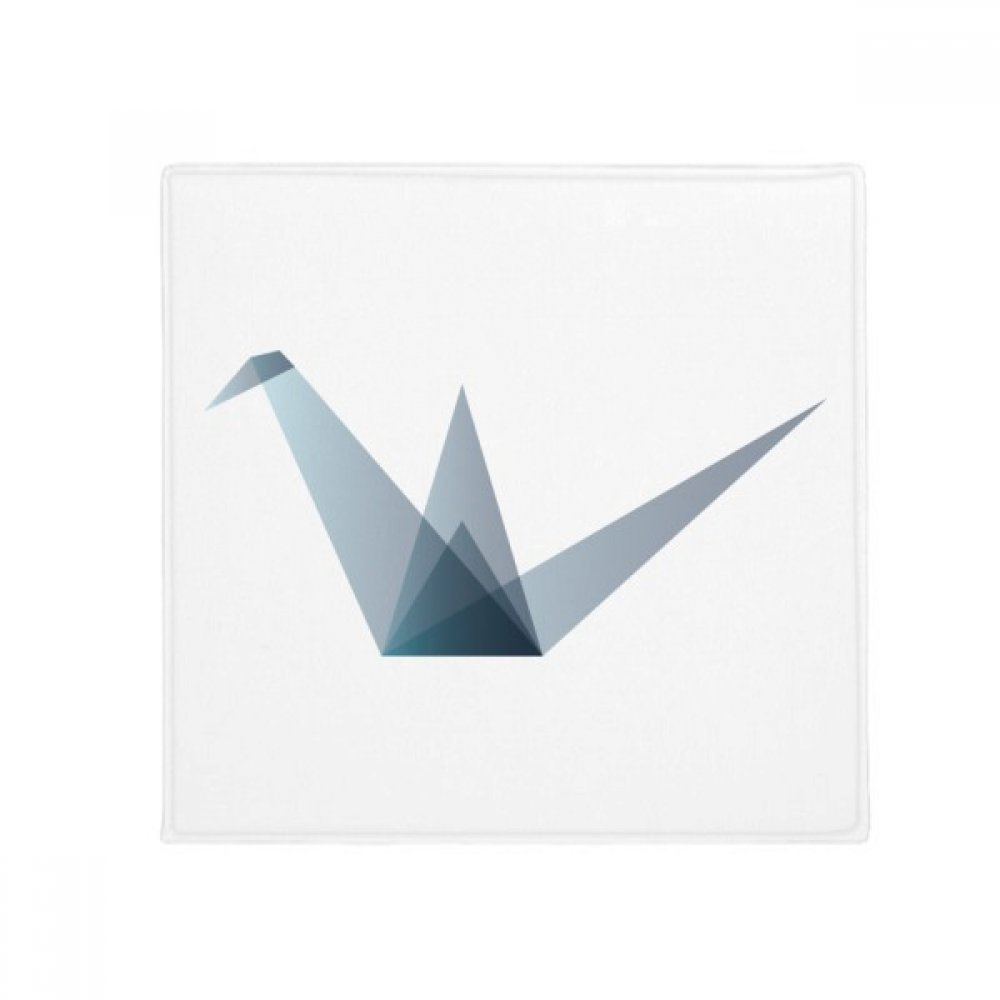 DIYthinker Origami Abstract Crane Geometric Shape Anti-Slip Floor Pet Mat Square Home Kitchen Door 80Cm Gift
