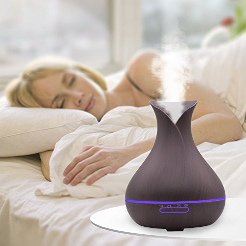 ANGELS-Air Aroma Humidifier Ultrasonic Air Aromatherapy Essential Oil Diffuser 400ml