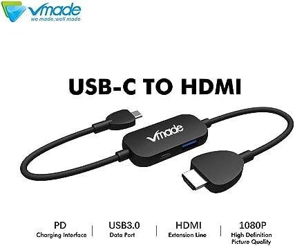 Vmade We Made - Cable USB C a HDMI para Nintendo Switch, 1080P ...