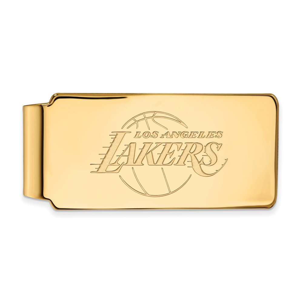 NBA Los Angeles Lakers Money Clip in 14K Yellow Gold
