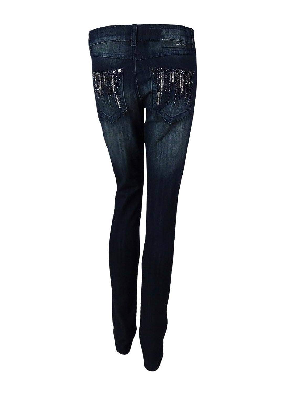 INC Denim Women's Indigo Skinny Leg Regular Fit Jeans (4)
