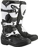 Alpinestars Tech 3 Motocross Off-Road Boots 2018 Version Men's Black/White Size 12
