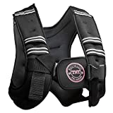 Iron Weighted Vest for Men and Women - Evenly Distributed Iron Filled Light Weight Vest for Maximum Performance and Comfort - 11 lbs