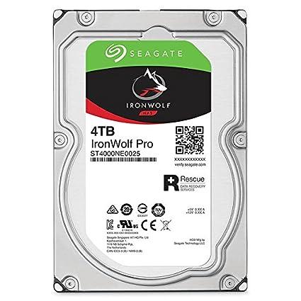 Amazon.com: Seagate IronWolf Pro 4TB NAS Internal Hard Drive HDD