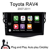 DAYO Double Din Car Stereo Android Auto Carplay Radios for Toyota RAV4 2007 2008 2009 2010 2011
