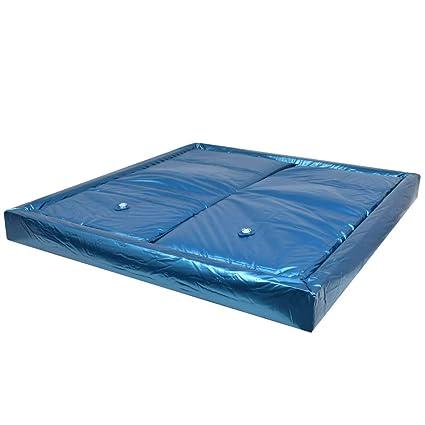 Wasserbett Matratze 100x200.Amazon De Festnight Wasserbettmatratzen Set Mit Einlage