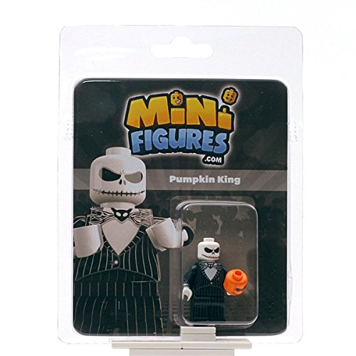 Custom Design Minifigure - NBC Pumpkin - Skellington Jack Lego