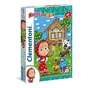 Clementoni Mashas Tales Supercolor Puzzle 60 Pezzi 26971