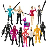 Ginkago Fort Game Action Figures Cartoon Toys Anime Collection Decoration Children Gift (12PC)