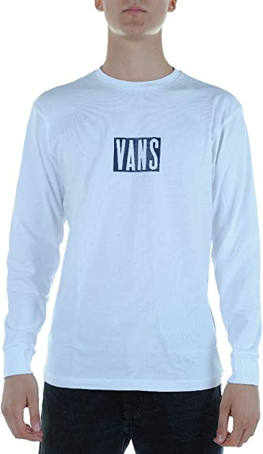 Vans MN Tall LS VN0A3W55WHT1 - Camiseta para Hombre, Color Blanco: Amazon.es: Ropa y accesorios
