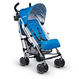 UPPAbaby G-Luxe Stroller, Marine Blue/Silver/Georgie