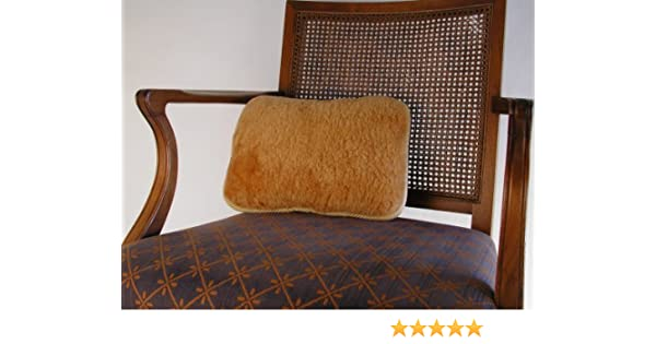 Cozyrest Extra Firm Lumbar Support Australian Sheepskin Cushion