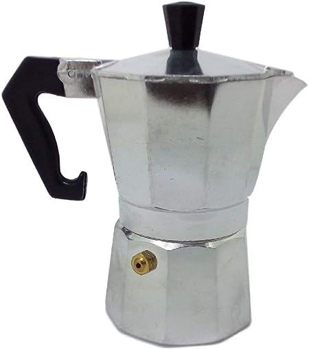 Ducomi® Moka Express - Cafetera Espresso para 1 Taza (Aluminio): Amazon.es: Hogar