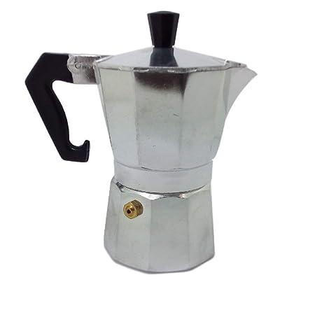 Ducomi® Moka Express - Cafetera Espresso para 1 Taza (Aluminio ...