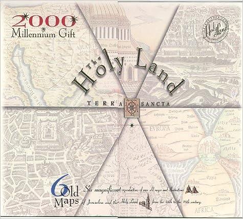 Portfolio of Antique maps of the Holy Land (6 Maps)