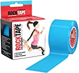 Rocktape Kinesiology Tape for Athletes (2-Inch x 16.4-Feet), Electric Blue