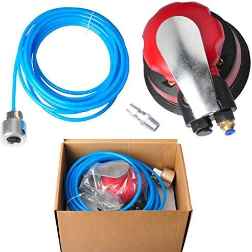 5インチ空気圧水グラインダー空気サンドペーパーマシン研磨機水グラインダーマシン研磨機-赤