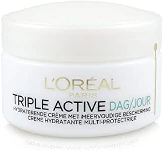 L'Oreal Triple Active Multi-Protective Day Cream 24H Hydration - For Normal/Combination Skin 50ml/1.7oz