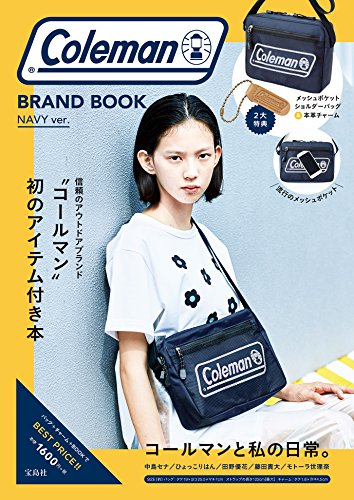 Coleman BAG BOOK NAVY ver. 画像 A