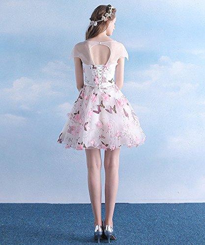 Linie A Rose Kleid Damen Drasawee vzxq71WO