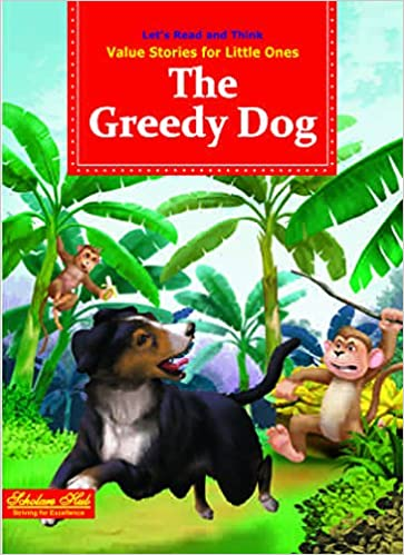 🌱 The greedy dog story in english   English Short Story and