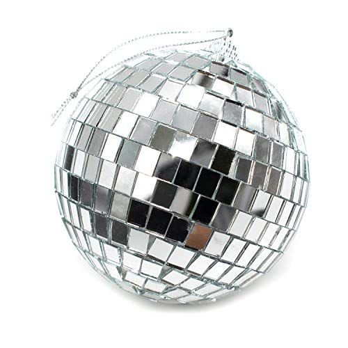 Disco Ball Pics (AUEAR 1 Pcs Disco Ball Mirror Ball for Home Decorations Stage Props Game)