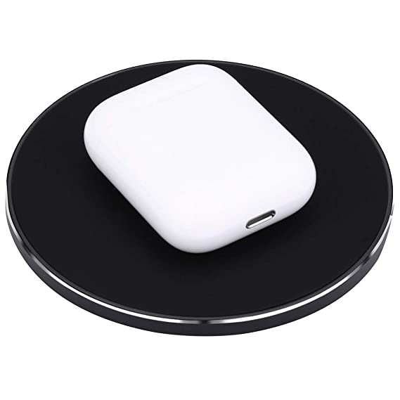 ee336ad3601 Amazon.com: SMOXX 2019 Wireless Charger Qi Fast Wireless Charger Rapid  Charging Stand for AirPods 2 for Samsung S10: Cell Phones & Accessories