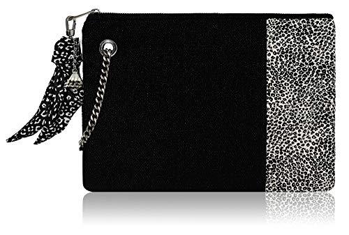 Clutch Purses for Women Evening - Chain Wristlet Strap Purse & Small ()
