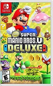 Amazon com: New Super Mario Bros U Deluxe - Nintendo Switch